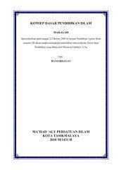KONSEP DASAR PENDIDIKAN ISLAM.pdf
