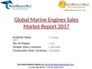 Global Marine Engines Sales Market Report 2017.pptx