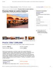 Precioso Hotel en centro histórico, Otros de Venta inmuebles en Centro, Querétaro (Querétaro) _ Segundamano.pdf