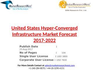 United States Hyper-Converged Infrastructure Market Forecast 2017-2022.pptx