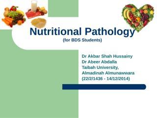 26 Nutritional Pathology 1436.pptx