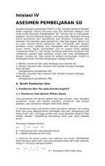 Asesmen Pembelajaran SD.4.3.doc