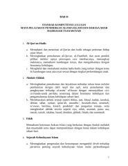 03--LAMPIRAN I b---Bab II - SKL PAI dan Bhs Arab tk. MTs.rtf