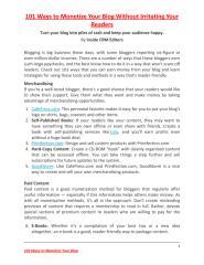 101 ways to monetize your blog.pdf