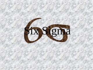 Six Sigma #2 DMAIC.pps