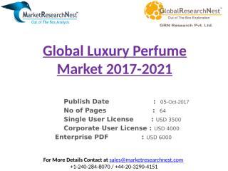 Global Luxury Perfume Market 2017-2021.pptx