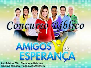 concurso bíblico 2011 - 50.ppt