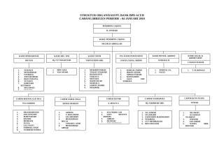 STRUKTUR ORGANISASI PT BANK BPD.doc
