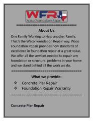 Foundation Repair Warranty.docx