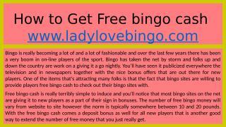 How to Get Free bingo cash.pptx