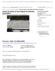 Venta de Hotel en San Miguel de Allende, Guanajuat, Otros de Venta inmuebles en San Miguel de Allende Centro, San Miguel de Allende (Guanajuato) _ Segundamano.pdf