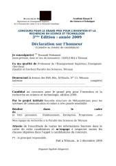 3eme Competition Innovation_Declaration sur l'honneur.rtf