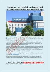 Siemens extends fall on board nod for sale of mobility, rail traction ops.pdf