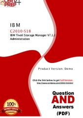 C2010-518 IBM Professional Certification Test Questions.pdf