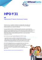 HP0-Y31 Implementing HP Network Infrastructure Solutions.pdf
